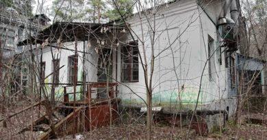 Заброшенный пионерский лагерь «Юность» в Рязанской области