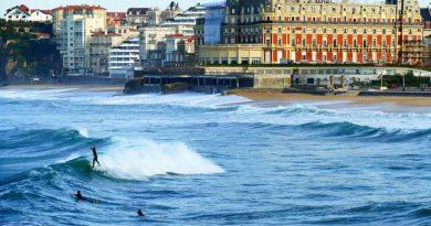 Биарриц (Франция) — пляжный отдых и достопримечательности