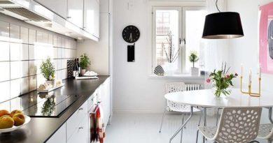 Дизайн маленькой кухни: 8 практичных советов