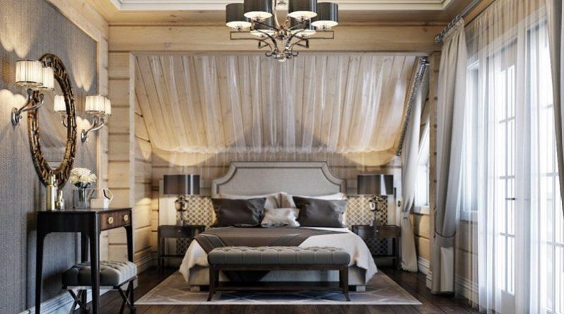 Как стильно и уютно организовать освещение в спальне?