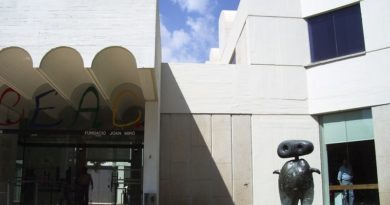 Музей Жоана Миро в Барселоне