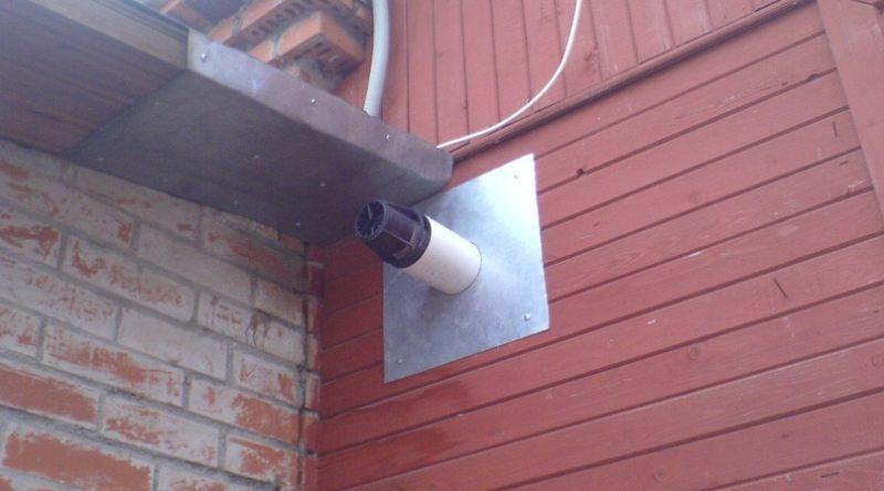 Отопление частного дома (устройство вентиляции в котельной)