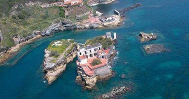 Проклятый остров Гайола в Италии