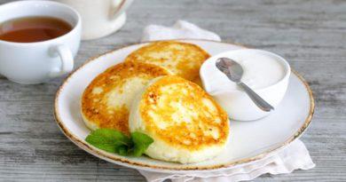 Сырники с мягкой творожной сердцевиной
