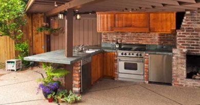 Выбор и эксплуатация летней кухни