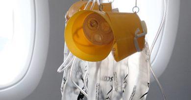 Зачем в самолетах кислородные маски и безопасен ли воздух в них