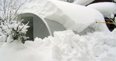 Зимний уход за теплицей