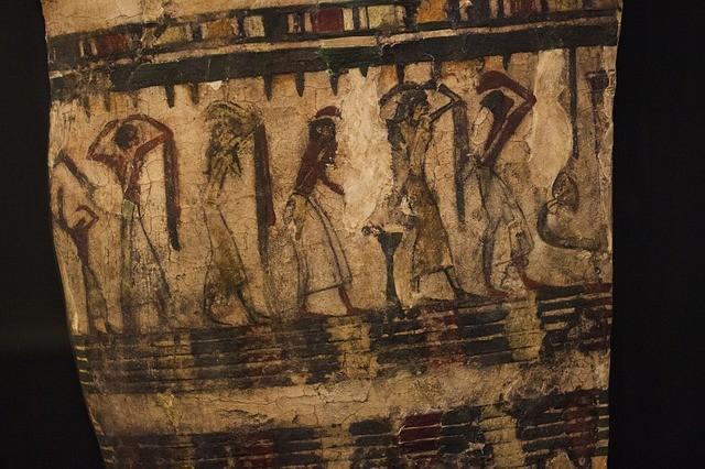 54 древних саркофага - новые находки в Египте
