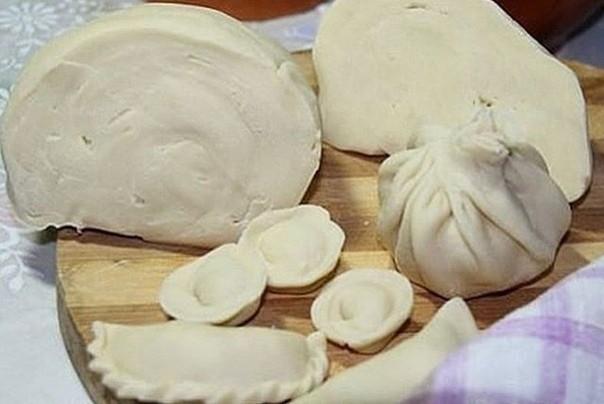 Cупер тесто на пельмени и вареники