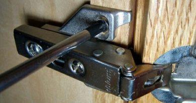 Как отрегулировать петли шкафа