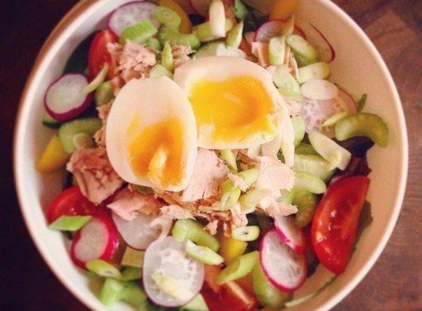 Легкие диетические салаты на обед или ужин!