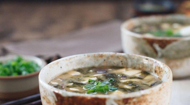 Мисо-суп с грибами шиитаке