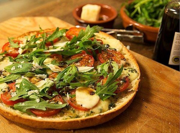 Пицца из лаваша «Наполи»