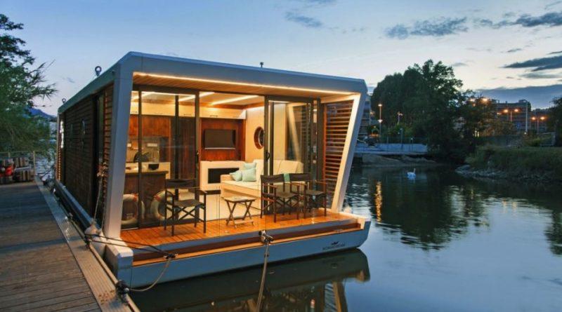 Плавучие дома могут появиться на водоемах