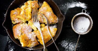 Баварский сладкий омлет