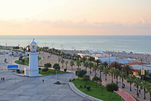 ТОП-3 курортов для пляжного отдыха в Грузии