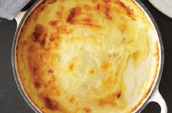 Картофельная шантилья с сырной корочкой