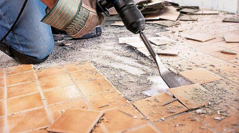 Замена старой стяжки при ремонте квартир