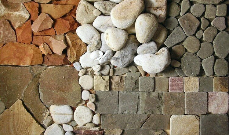 Использование натурального камня в дизайне домов