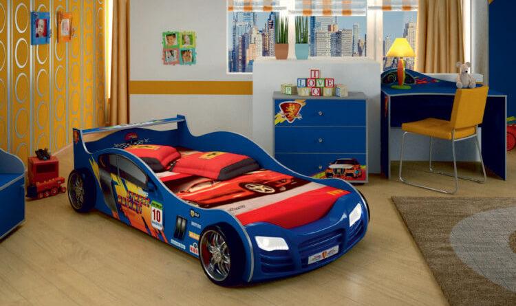 Выбор детской кровати