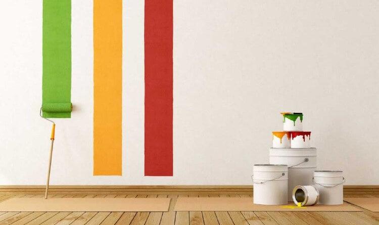 Выбор краски для окрашивания стен и потолка