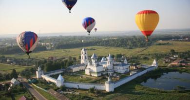 Переславль-Залесский: фестиваль воздушных шаров