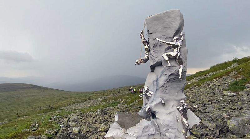 Перевал Дятлова: установлен памятник погибшим туристам