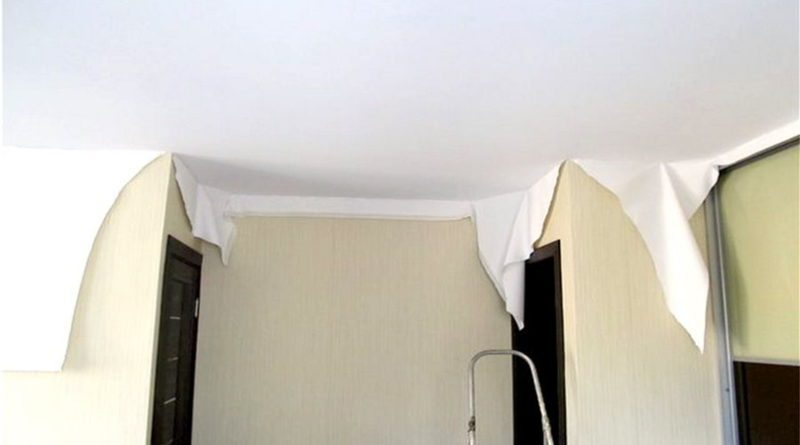 Разница между пленочными и тканевыми потолками