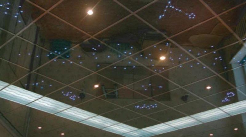 Зеркальные потолки