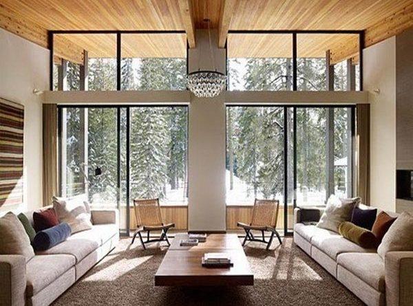 Алюминиевые окна – современное решение для обустройства частных домов