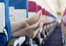 Почему туристы никогда не должны снимать обувь во время полета?!