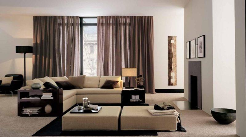 Принципы применения современной дизайнерской мебели в интерьерах в американском стиле