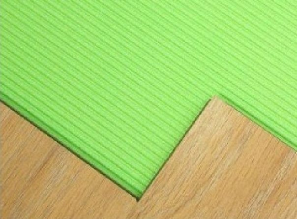 Подложка под ламинат – гарант изготовления надёжного напольного покрытия