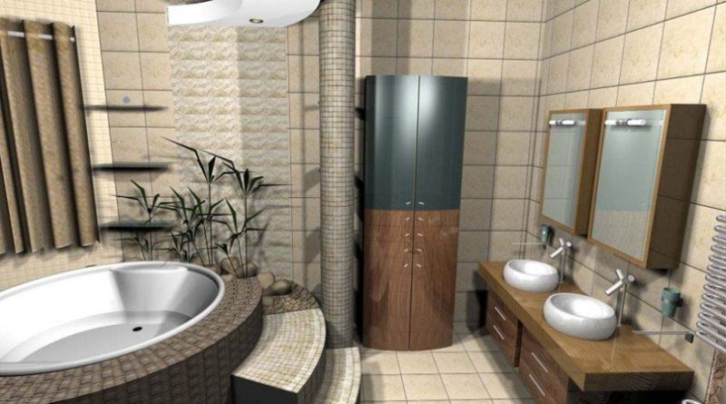 Создаем дизайн ванной комнаты для делового человека