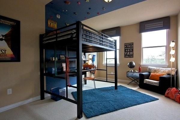 Кровать-чердак: практично, удобно, функционально!